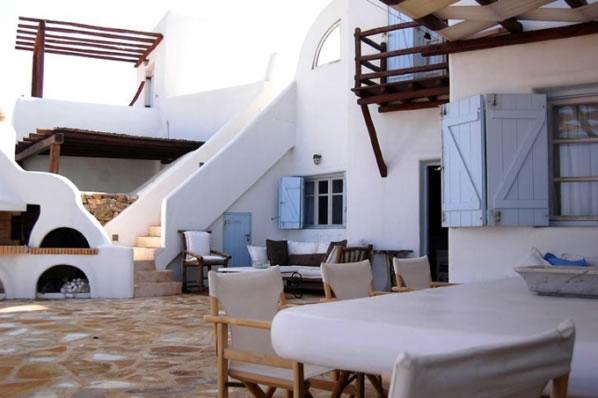 Una casa de vacaciones en mykonos for Casas en islas griegas