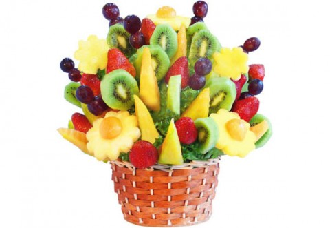 Arreglos de mesa de frutas imagui for Centros de frutas