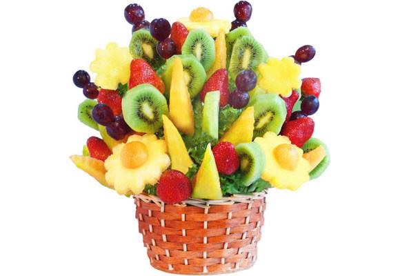 Centros decorativos con frutas 01 gu a para decorar for Decoracion con verduras