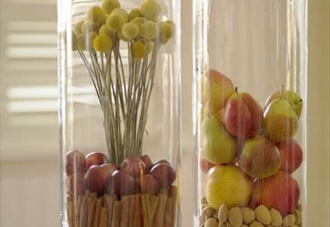 Centros de mesa naturales for Centros de frutas