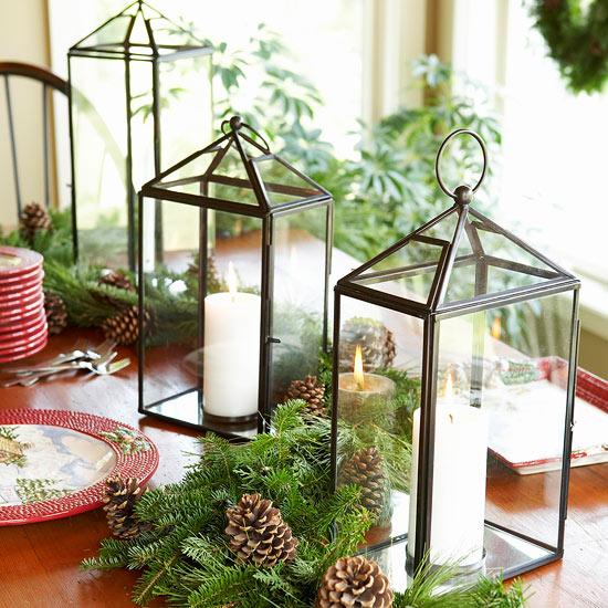Peque os arreglos navide os - Arreglos navidenos para la casa ...