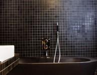 imagen Cuarto de baño en color negro ¿opción o desafío?