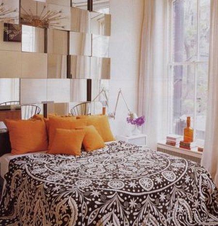 Espejos para el cabecero de tu cama - Ideas originales para cabeceros de cama ...