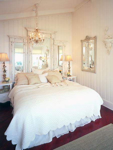 Espejos para el cabecero de tu cama