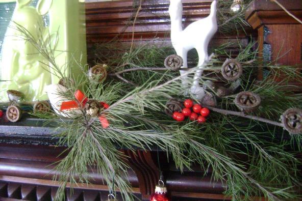 Decoración retro navideña 3