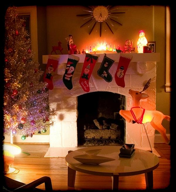 Decoración retro navideña 4