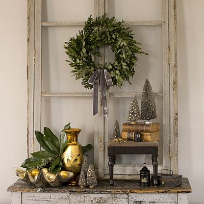 decoraci n navide a con estilo retro On decoracion navidena vintage