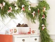 imagen Decoración navideña natural