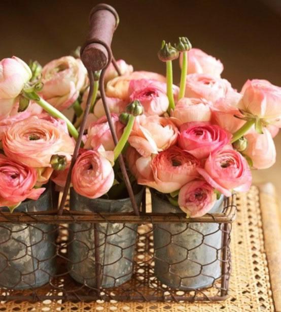 Decorar con flores naturales 4