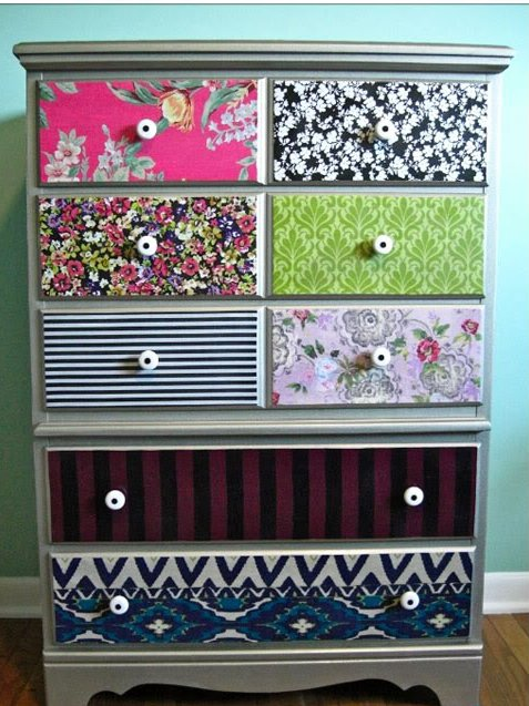 Decora muebles y accesorios con telas - Papel de arroz para decorar muebles ...