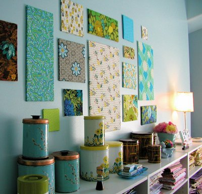 Decora muebles y accesorios con telas
