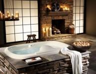imagen Cuartos de baño sobre piedra natural