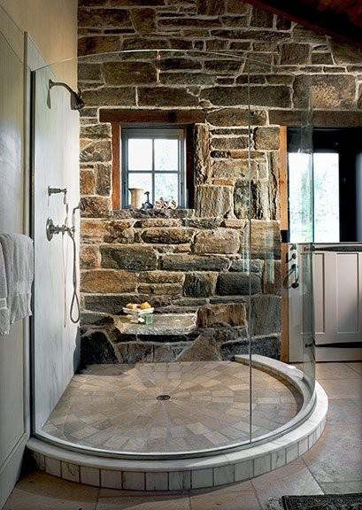Baños con piedra natural 3