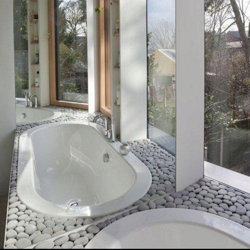 Pisos Para Baños De Piedra: de baño con muy buenas vibraciones en espacios realmente auténticos