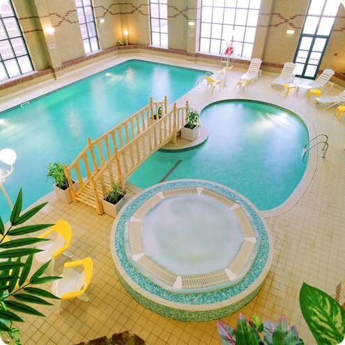 Diez piscinas de interior para so ar for Sonar con piscina