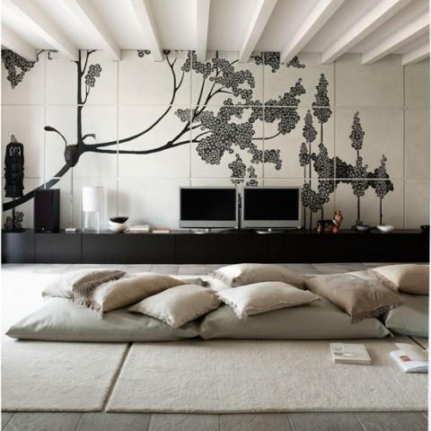 Zona lounge en casa 8