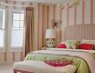 imagen Dormitorios con decoración a rayas