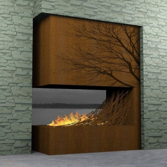 Decorar con fuego 9