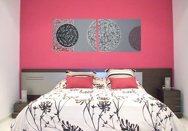 Pinta tus habitaciones de dos colores - Cuadros decorativos para habitaciones ...