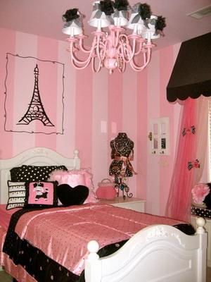 Habitaciones en rosa y negro5