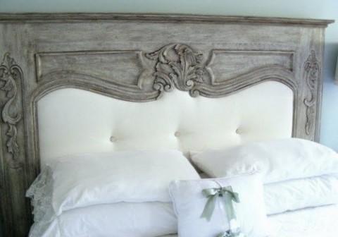 Cabeceros con forma de chimenea - Cabeceros de cama antiguos ...