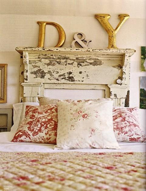 Cabeceros con forma de chimenea - Cabeceros de cama vintage ...