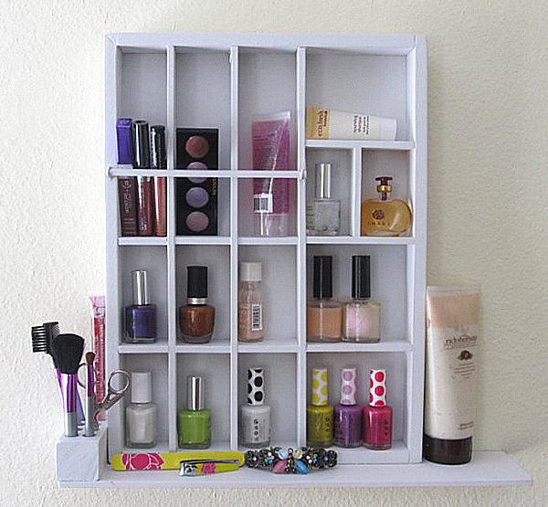 Existen diversos sistemas de almacenamiento para productos de belleza