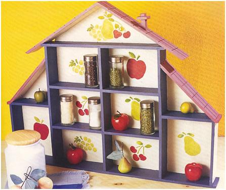 Ideas para colocar especieros en la cocina - Como hacer un especiero ...