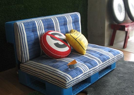 Muebles con madera de palé 7