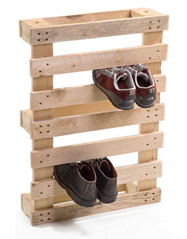 Muebles hechos con madera de palé