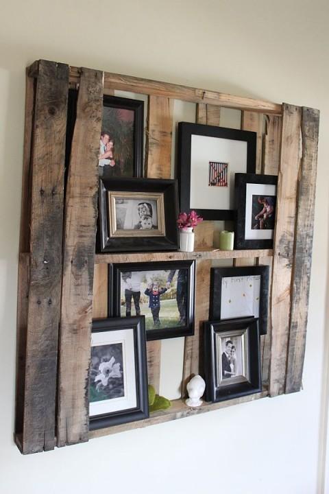 Muebles hechos con madera de palet 12 gu a para decorar - Muebles hechos con pale ...