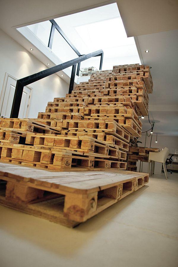 Muebles con madera de palé 15