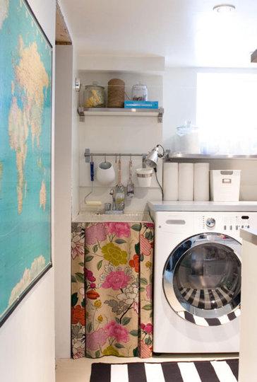 Nueve propuestas para decorar el lavadero for Cuartos lavaderos