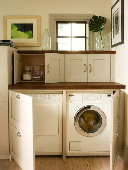 nueve propuestas para decorar el lavadero