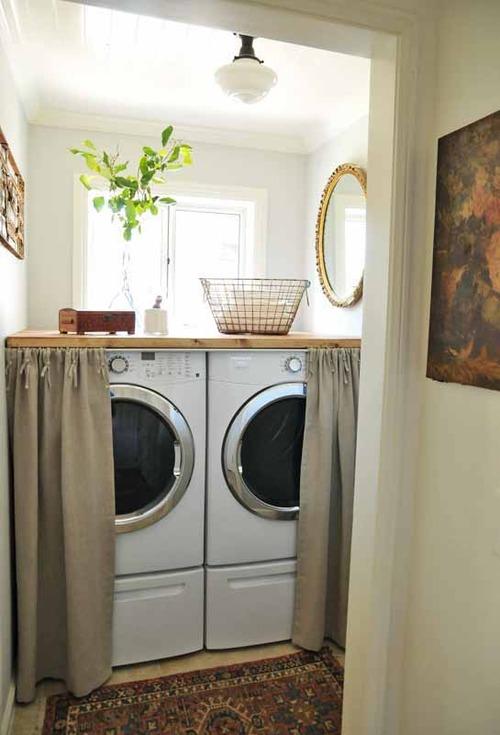 Nueve propuestas para decorar el lavadero 6