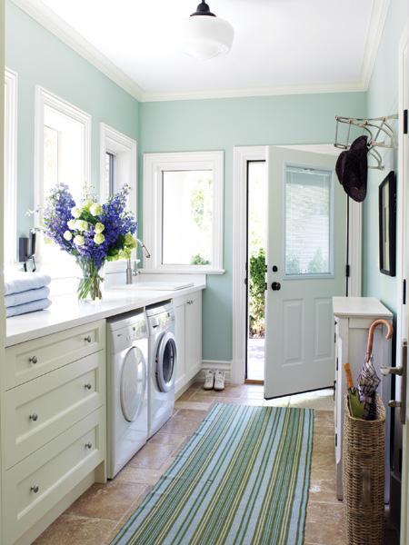 Nueve propuestas para decorar el lavadero 7