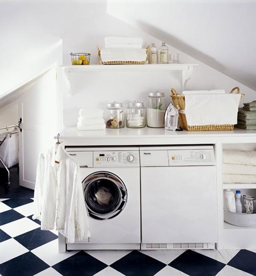 Nueve propuestas para decorar el lavadero for Lavaderos para casa