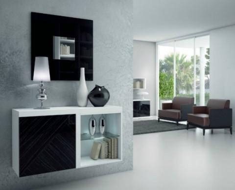 Recibidores de estilo moderno - Recibidores de casas modernas ...