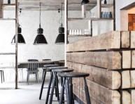 imagen Un restaurante en estilo industrial
