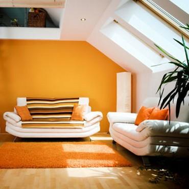 Decorar con el color naranja 3