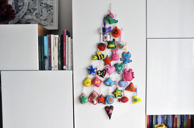 Un par de sencillas ideas para decorar la Navidad