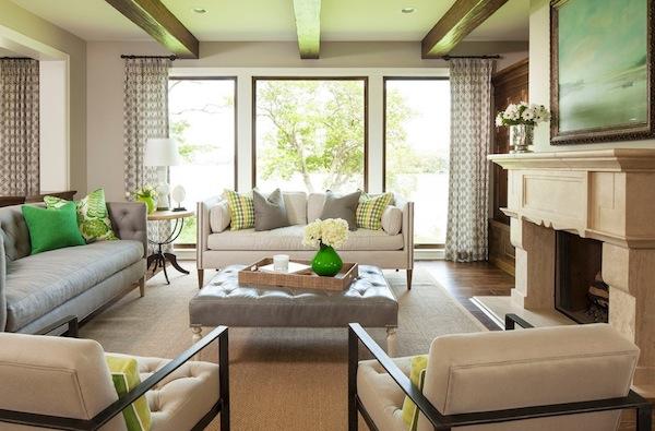 Un tono de gris para cada habitaci n - Colores que contrastan con el gris ...
