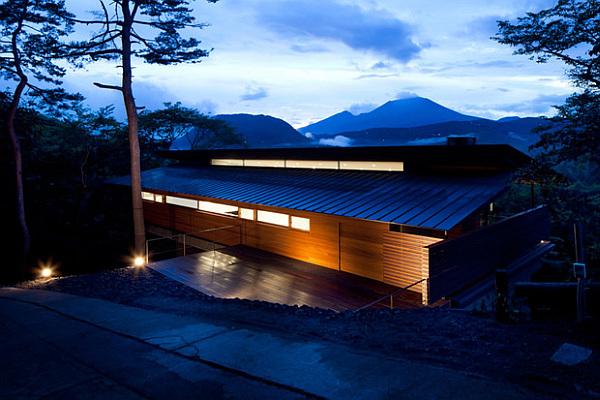 Una Casa Japonesa Moderna Y Espectacular