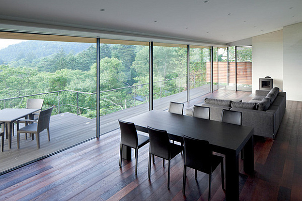 Una casa japonesa moderna y espectacular for Casa moderna japonesa
