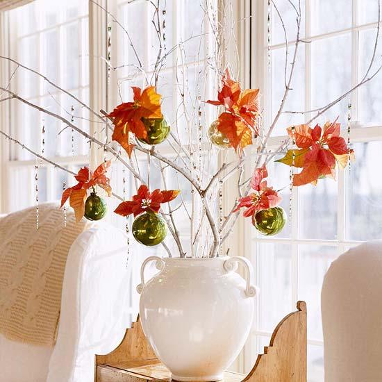 Arreglos navide os con flor de pascua - Centros florales navidenos ...