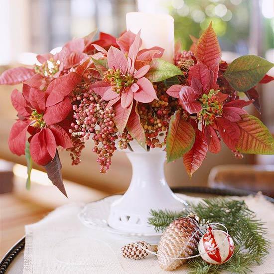 Arreglos florales navideños 5