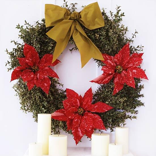 Arreglos florales navideños 8