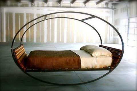 Camas y sofás colgantes 3