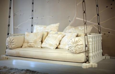 Camas y sofás colgantes 4