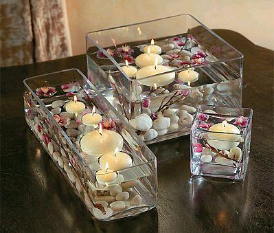 centros de mesa con inspiraci n oriental. Black Bedroom Furniture Sets. Home Design Ideas